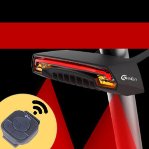 Remote Control Bicycle Turn Signal Lamp 2000mAh USB Rechargeable wireless Bike Tail Light pictures & photos