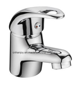 Hot Sale Deck Mounted Single Handle Brass Basin Tap(H12-101) pictures & photos