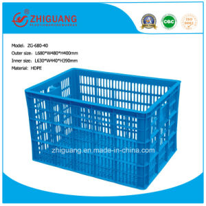 High Quality Plastic Basket for Kitchen/Logistics pictures & photos