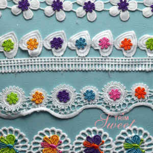 Embroidery Flower, Embroidery Accessories Lace pictures & photos
