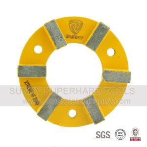 4 Inch Concrete Floor Metal Bond Diamond Grinding Wheel pictures & photos