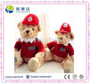 Custom Plush Police Uniform Teddy Bear pictures & photos
