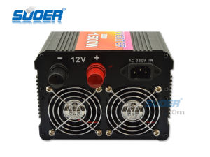 Suoer Good Quality 12V 1500W Power Inverter with Charger (HDA-1500C) pictures & photos