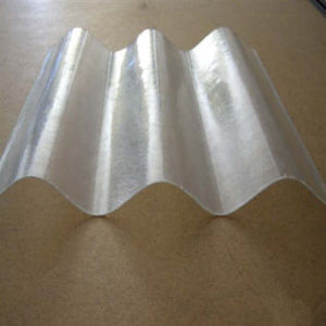 Plastic Lexan Polycarbonate Corrugated Clear Sheet pictures & photos