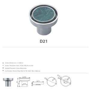 Decorative Concrete Stainless Steel Bathroom Hardware Floor Drain (D21) pictures & photos