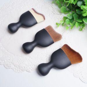 2016 New Single Kit Matte Black Mini Multipurpose Makeup Brush pictures & photos