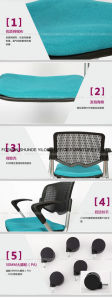 Black Frame Mesh Back Adjustable Mesh Chair pictures & photos