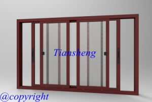 Aluminum Sliding Window with Flyscreen pictures & photos