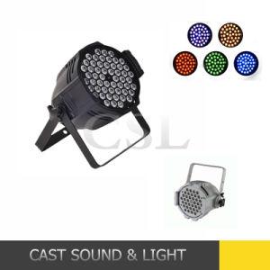 Professional RGBW 54*3W PAR LED Stage Disco Lights (CSL-654A) pictures & photos