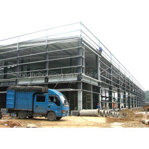 Green Material Modern Prefab & Beautiful Warehouse/Workshop Made in China pictures & photos