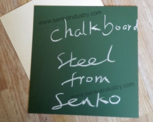 Green Chalkboard Metal Surface with Top Quality pictures & photos