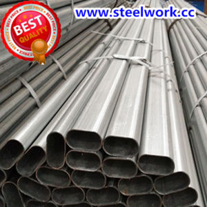 ERW Galvanized/ Annealing Weled Special Section (Flat Oval) Steel Pipe (T-06)
