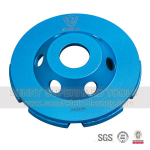 Single Row Diamond Grinding Cup Wheel for Stone Concrete pictures & photos