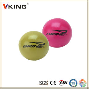 Lifetime Warranty Laser Engraved Rubber Lacrosse Massage Ball