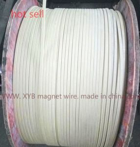 Double Glass Fiber Aluminum Flat Wire pictures & photos
