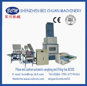 China High Quality Automatic Cushion Filling Machine pictures & photos