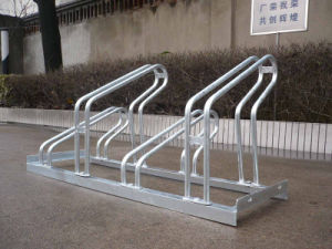 Pretty Hot-Dipped Galvanized Bike Racks pictures & photos