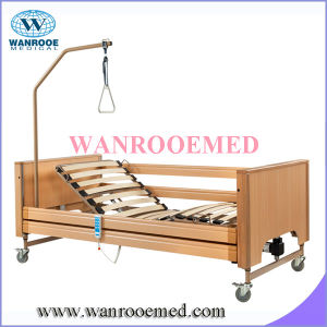 Home Care Bed with Wooden Batten Surface pictures & photos