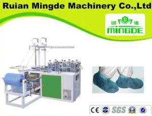 Mingde HDPE/LDPE PE Automatic Plastic Shoe Cover Machine pictures & photos