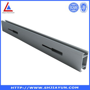 Extruded Aluminium/Aluminum Extrusion Silver Anodized pictures & photos