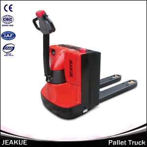 New Design 2000kg Walking Electric Palllet Truck pictures & photos