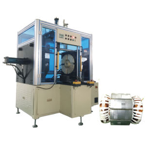 Big Power Long Stack Length Pump Stator Horizontal Type Coil Final Forming Machine pictures & photos