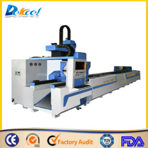 Metal Pipe Laser Cutter 500W Plate Fiber Processing Machine pictures & photos