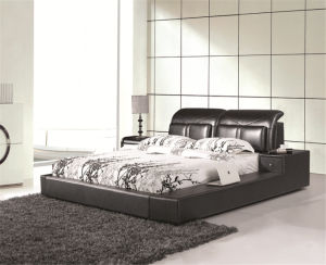 Modern Home Furniture Bedroom Bed pictures & photos