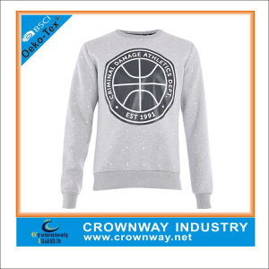 French Terry Wholesale Mens Crewneck Sweatshirt Without Hood pictures & photos