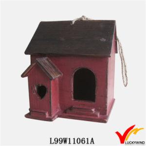 Luckywind Reproduction Vintage Antique Garden Wood Birdhouse pictures & photos