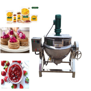 50L-600L Stainless Steel Food Jacketed Cooking Pot pictures & photos