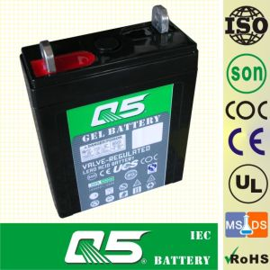 2V100AH AGM, Gel Rechargeable Battery Deep Cycle Solar Power Battery Rechargeable Power Battery Valve Regulated Lead Aicd Battery for Long-Life Battery pictures & photos