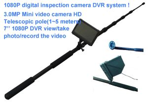 """New 1080P HD Mini Video Fishing CCTV Camera with 7"""" Monitor DVR System for Roof / Chimney Inspection pictures & photos"""