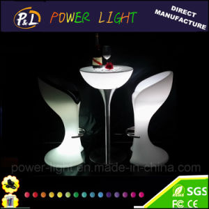 Bar Furniture Rechargeable Multicolor Changing LED Bar Chair pictures & photos