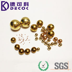 C28000 Small Round Solid Brass Ball pictures & photos