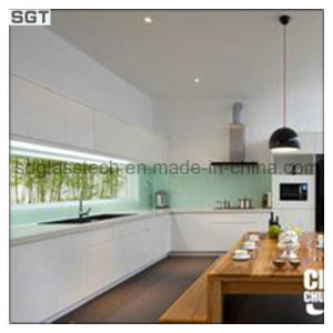 10mm 12mm Low Iron Lacquered Glass for Kitchen Splashbacks pictures & photos