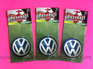 Custom Car Air Freshener with Car Logo for Promotional Gifts pictures & photos