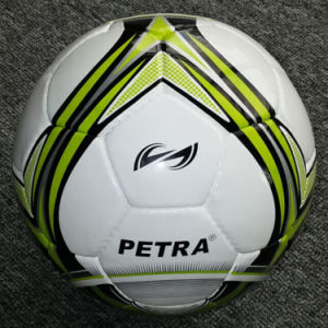 High Quality Hand-Stitched Soccer Ball pictures & photos