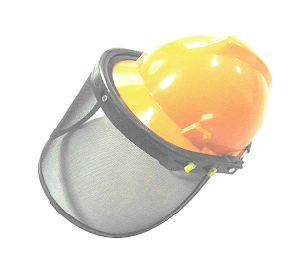 HDPE Helmet with Face Protection Mask for Fireman pictures & photos