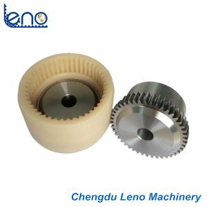 Curved-Teeth Nylon Sleeve Gear Coupling