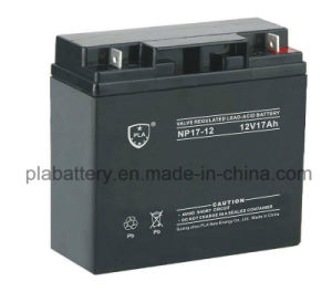 PLA 12V 17ah Rechargeable Lead Acid Power Battery