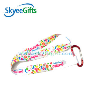Heat Transfer Neck Lanyard with Printed Logo pictures & photos