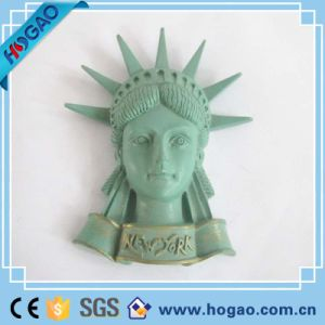 Tourist Souvenir Resin 3D Fridge Magnet The Statue of Liberty pictures & photos