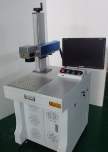 Fiber Laser Marking Machine for Metal Non-Metal Material 110*110mm pictures & photos