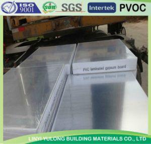 PVC Gypsum Ceiling Board with Aluminium Foil Back pictures & photos