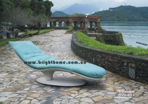 Special Design Sun Bed Lounge Wicker Rattan Outdoor Furniture pictures & photos