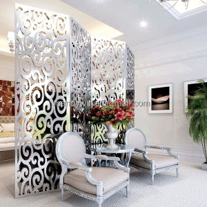 Modern Hotel Folding Screen /Partition Devider/ Stainless Steeldecoration pictures & photos
