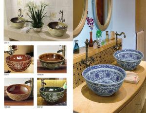Classical Art Lavatory Wash Sink (D19) pictures & photos