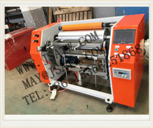 Semi-Automatic Aluminum Foil Roll Rewinder pictures & photos