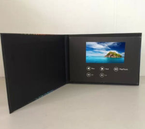 5inch LCD Screen Video Holiday Card pictures & photos